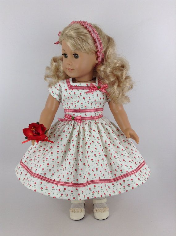 American Girl 18-inch Doll Clothes  1950's by HFDollBoutique