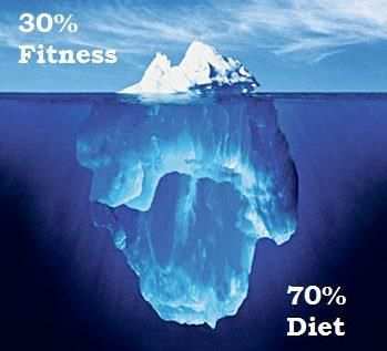 Fitness is just the tip of the Iceberg!