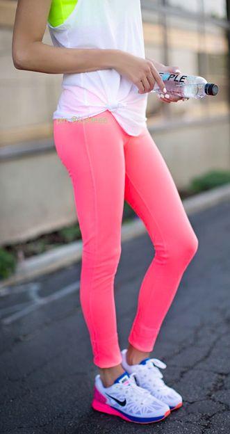 nike hyperwarm tights #fitspo