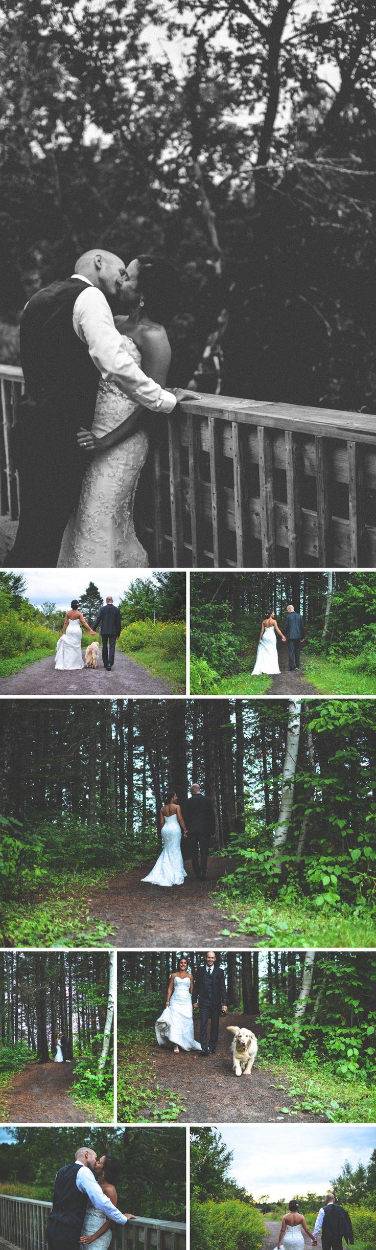 Beautiful summer wedding shoot