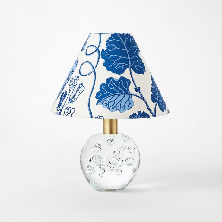 Josef Frank designed a lampshade for every one of his lamp models. This cotton lampshade has the Vegetable Tree print.  - Lampshade 1819, Cotton, Vegetable Tree, Josef Frank/Svenskt Tenn