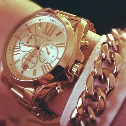 Michael Kors watch, bracelet