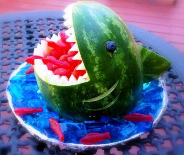 il ferocissimo squalo anguria