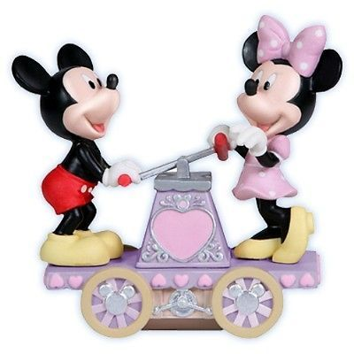 PRECIOUS MOMENTS Disney Figurine Mickey Minnie Mouse 114705 WE CAN DO ANYTHING