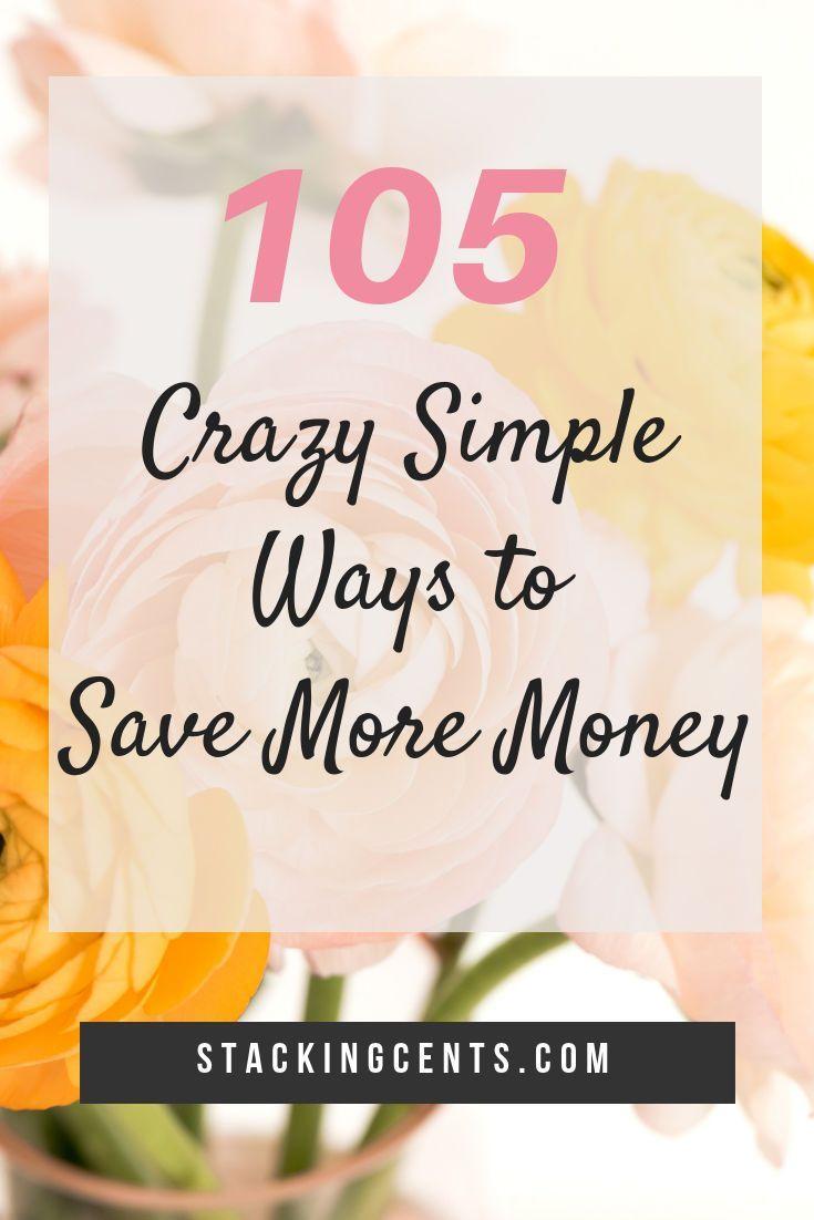 Schauen Sie sich diese fantastische Liste verrückter einfacher Möglichkeiten an, um Geld zu sparen! Mit 105 Tipps und …   – Money Saving Tips