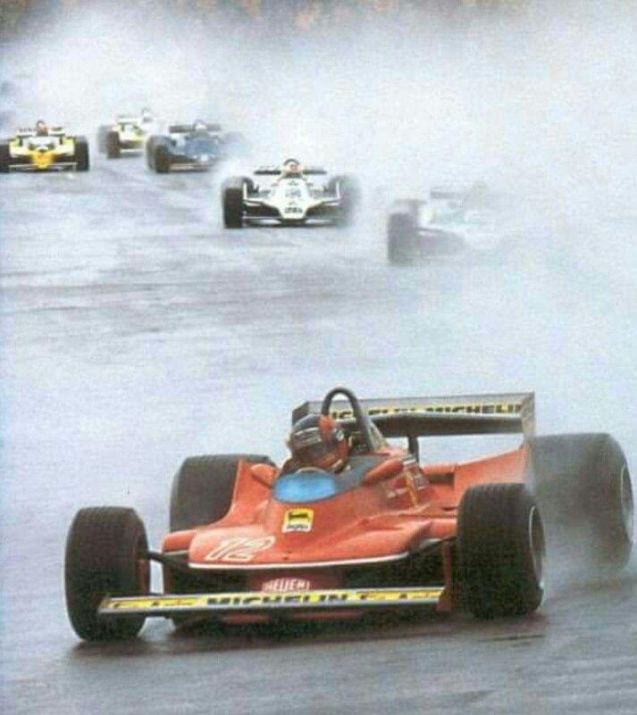 Gilles !! 312T4 leading & WINNING ! @The Glen USGP 1979!