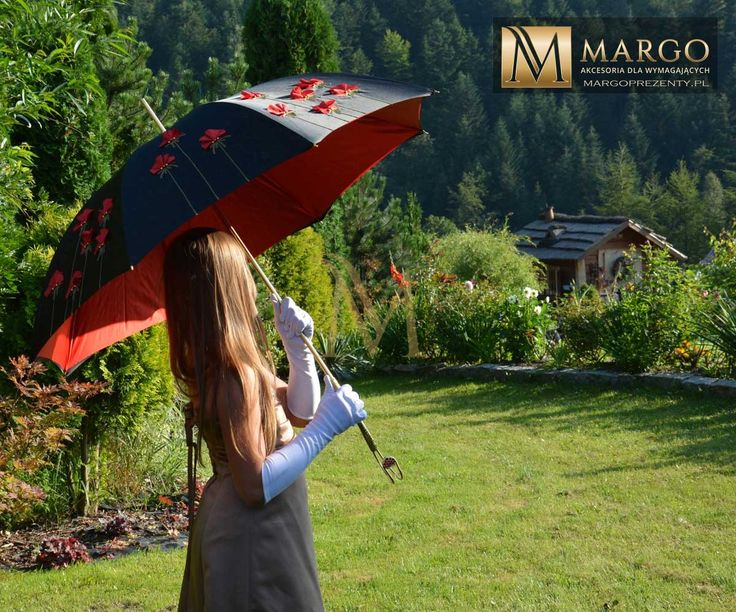 PARASOL PASOTTI EXCLUSIVE POPPIES