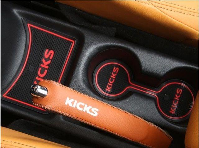 For Nissan Kicks 2016 2017 2018 2019 Anti Slip Rubber Cup Cushion Door Mat 14pcs Accessories Car Styling Sticker Review Nissan Kicks Accessories