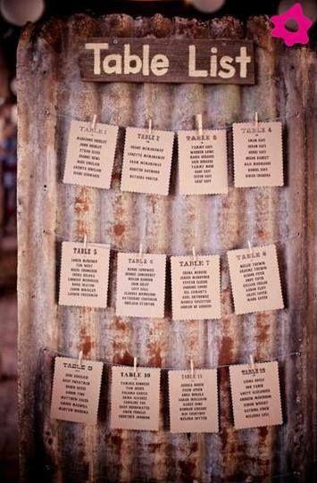 Placard de Casamento