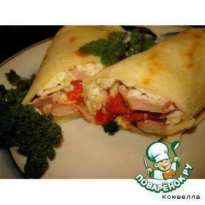 Мексиканские бурритос на завтрак (burritos de desayuno)