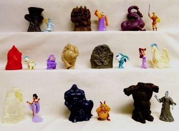 Toys For Hercules : The most awesome happy meal toys of s hercules