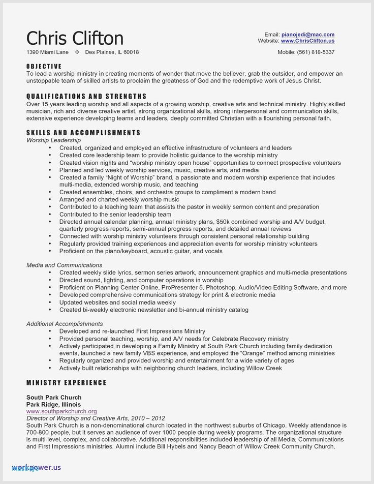 Social Media Skills Resume Lovely Sample Resume for