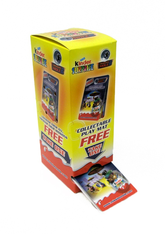 Kinder Surprise Z-CARDs with Tower Point of Sale Box