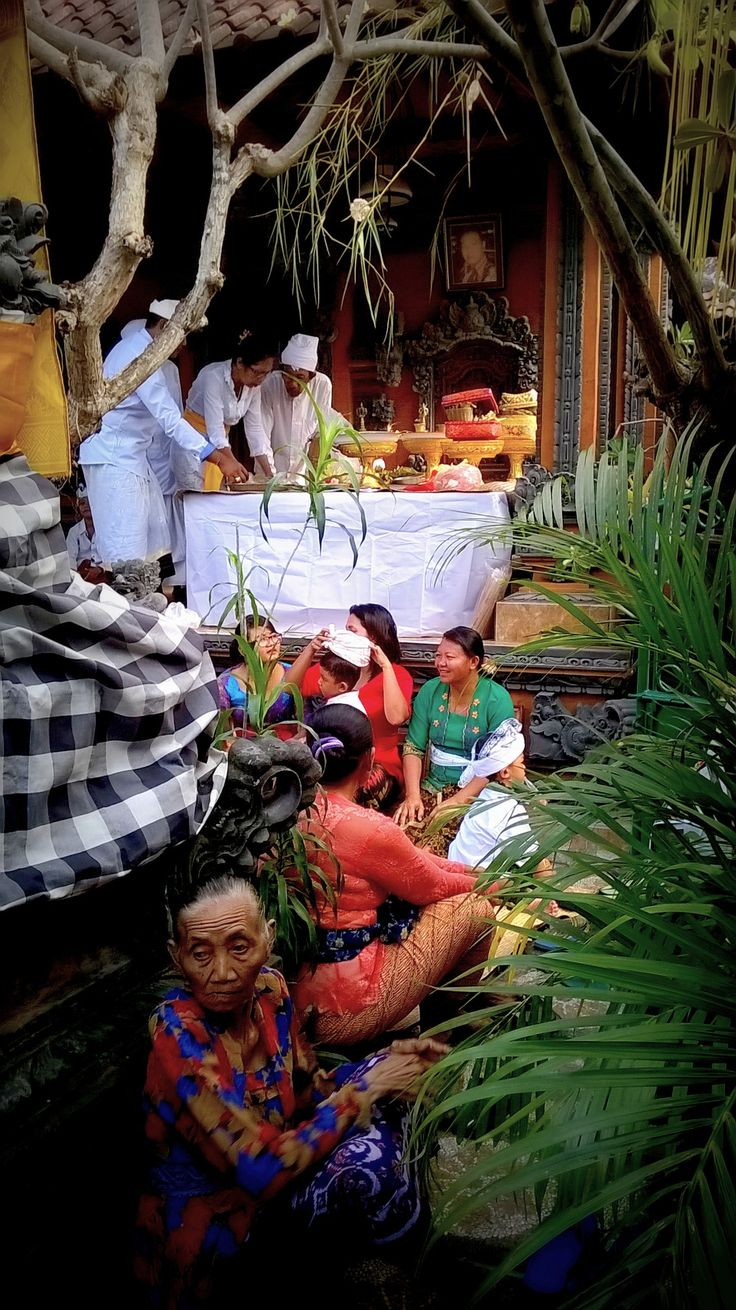 Bali Ceremony 2016 by Van Cleef ( study for a painting )