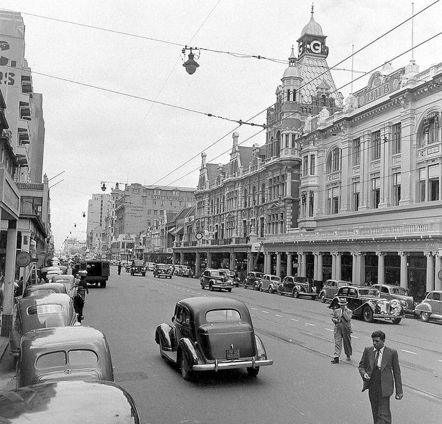 West Street looking south - Bon Marche & Greenacres departmental stores