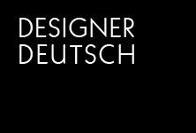 DESIGNERDEUTSCH — COVER