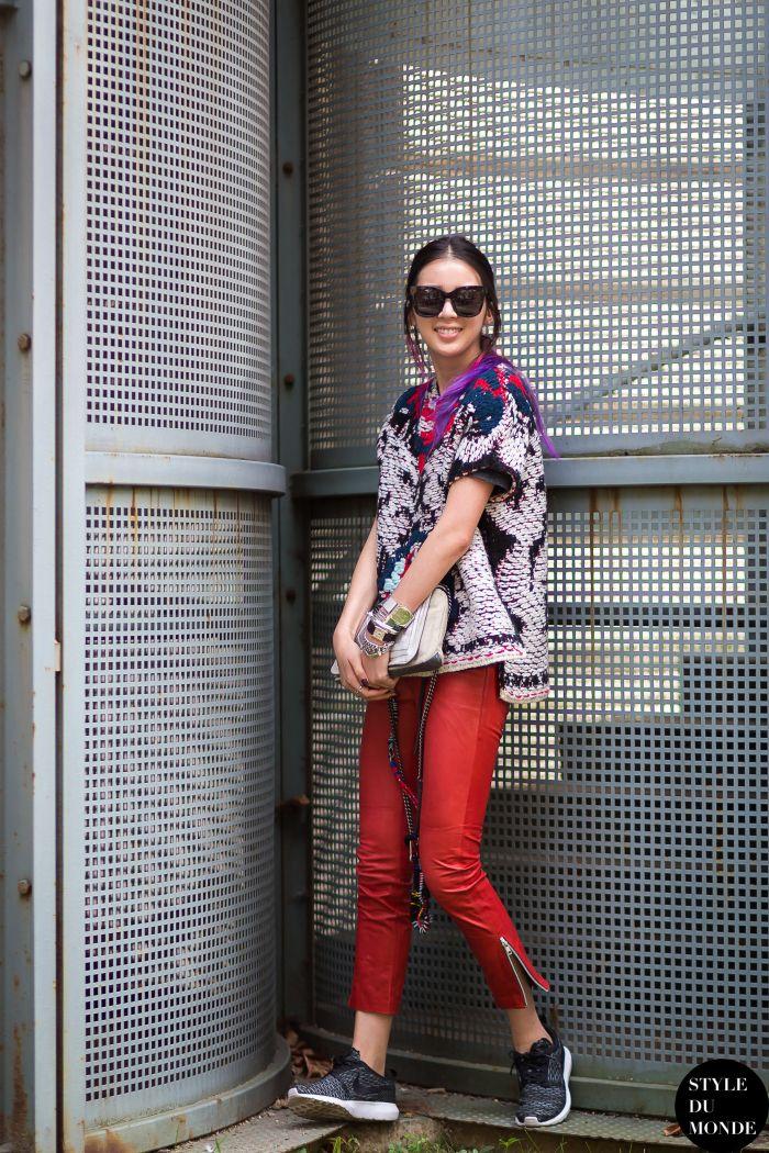 Paris FW SS15 Street Style: Irene Kim