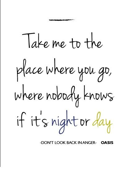 DON'T LOOK BACK IN ANGER Chords - Oasis | E-Chords