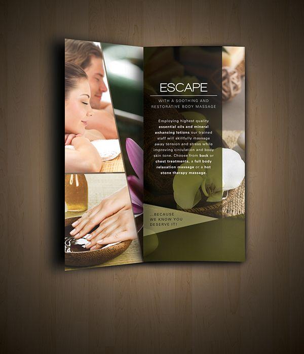 Nav Spa Brochure Design