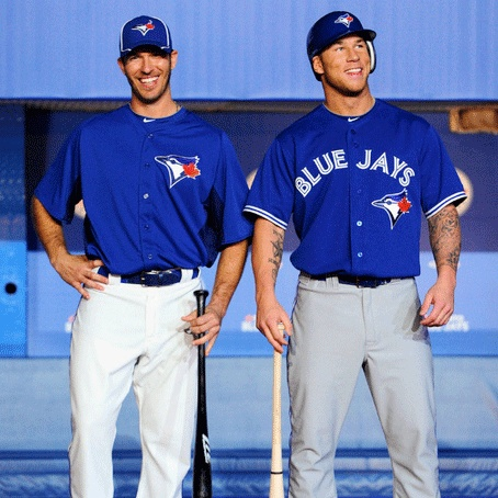 In honor of them both making if off the DL list on Sept 8th. Brett Lawrie and JP Arencibia.