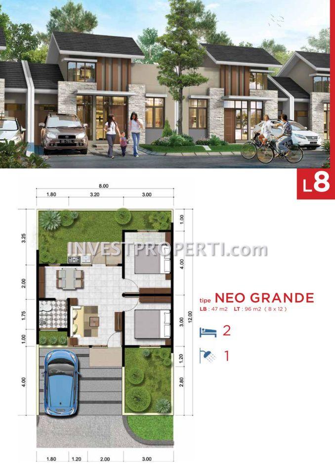 Cluster Neo Benevento @ Villaggio CitraRaya Tipe L8