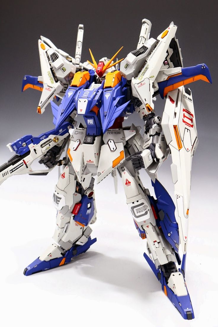 GUNDAM GUY: G-System 1/72 RX-105 Xi Gundam - Customized Build