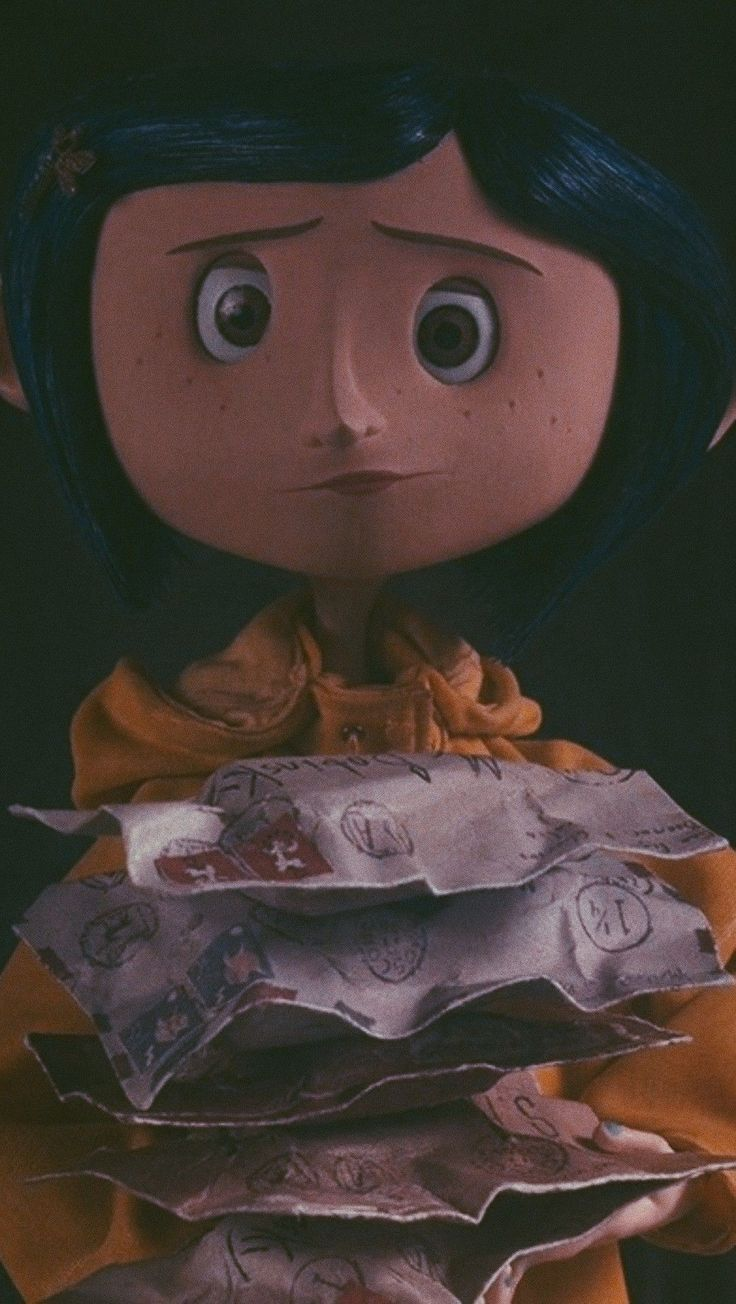 Coraline Wallpaper Aesthetics Halloween In 2020 Coraline Aesthetic Coraline Movie Coraline Art
