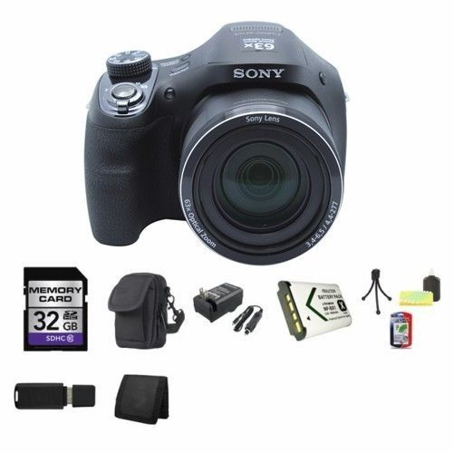 Sony Cyber-shot DSC-HX400V Digital Camera 32GB Package