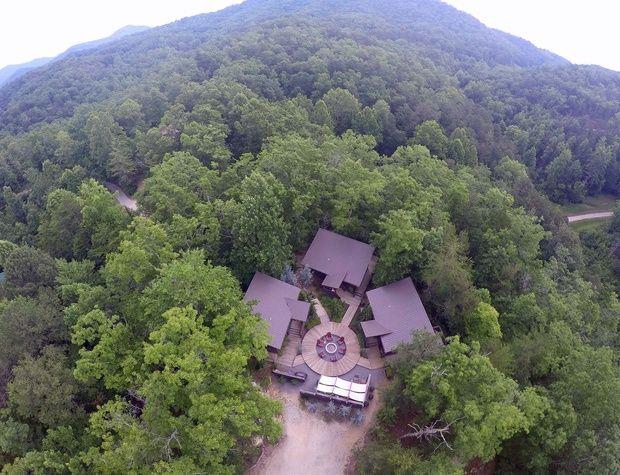 Woodland Lofts aerial