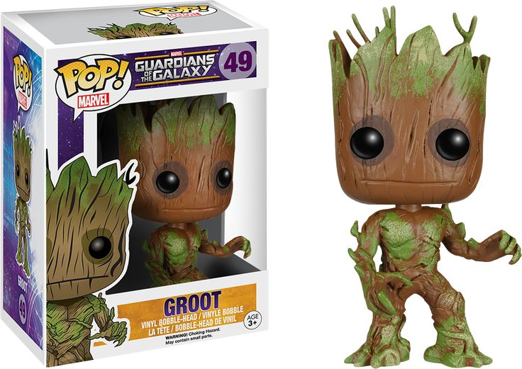 Guardians of the Galaxy - Extra Mossy Groot Pop! Vinyl Bobble Head Figure by Funko