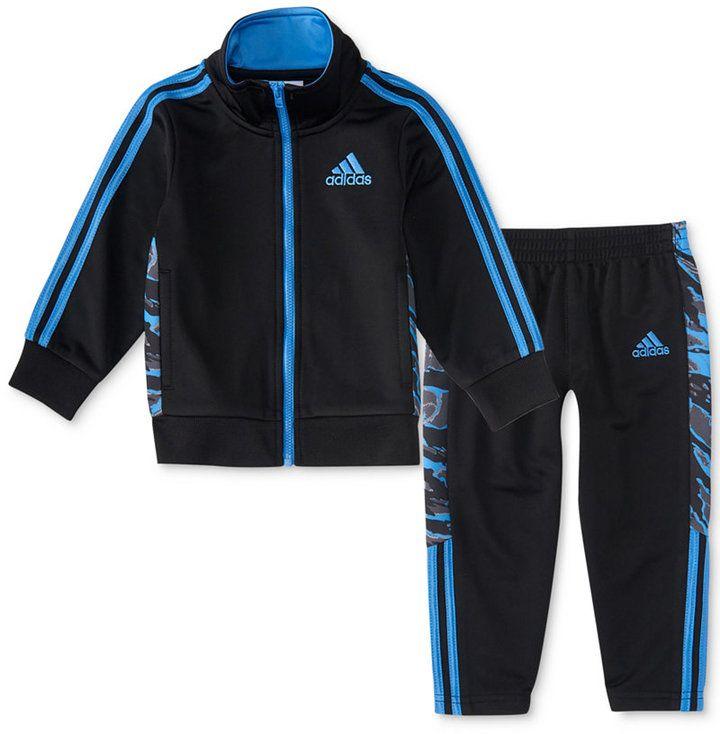 adidas 2-Pc. Camo Track Jacket \u0026 Pants Set, Toddler Boys (2T
