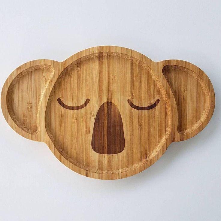 Karri the Koala, Bamboo Plate by Emondo Kids, Buy at Thistle & Roo