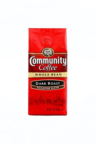Community Coffee Whole Bean Coffee Signature Dark Roast 12 oz 3 Count ** You can find more details by visiting the image link.