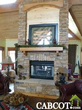 15 best Cabin & Cottage Fire Places - Fire Pits images on ...