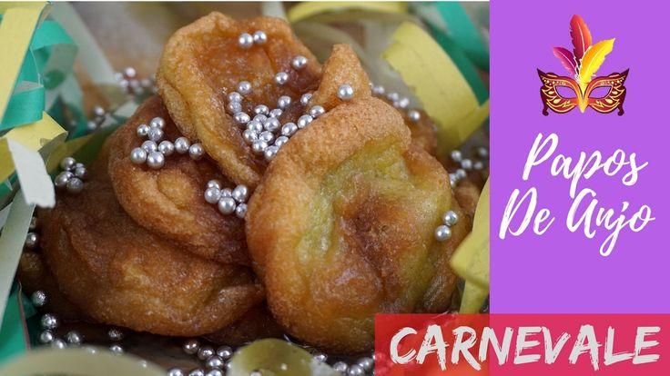 Papos De Anjo ricetta brasiliana   #carnevale #carnivale #videoricette #ricette #dolci #paposdeanjo #papos #frittelle #video #youtube #brazil #brasile