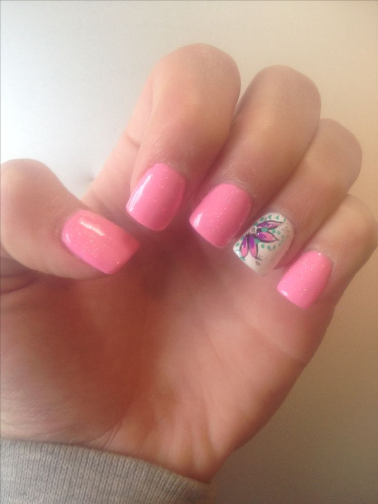 Spring Nail Trends: Best 25+ Pink Toe Nails Ideas On Pinterest