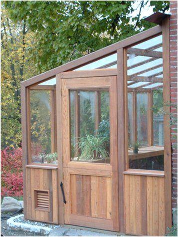 Cedar greenhouse kits!