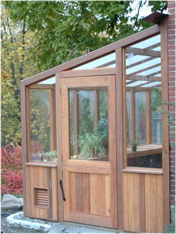 Cedar greenhouse kits!