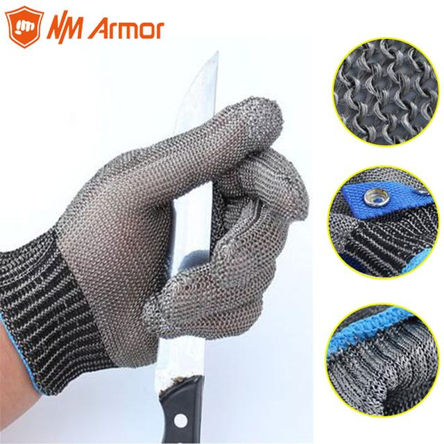 FISHING FILLET GLOVE STEEL WIRE CUT RESISTANT MATERIAL SINGLE FISH GLOVE