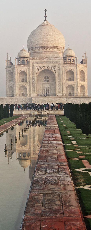 The Taj, Agra, India