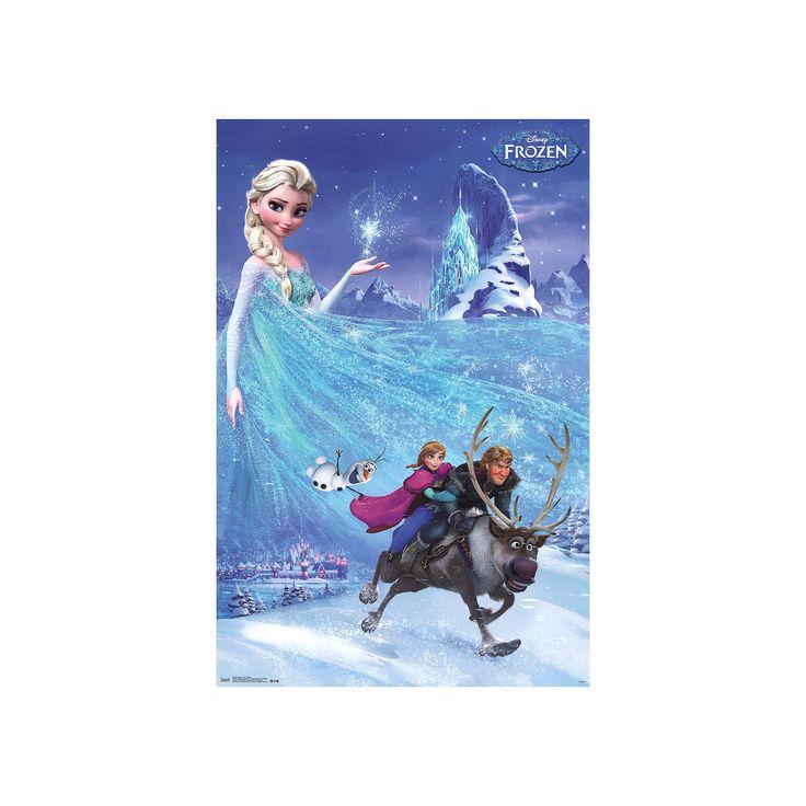 Disney's Frozen Poster Wall Art by Art.com, Blue