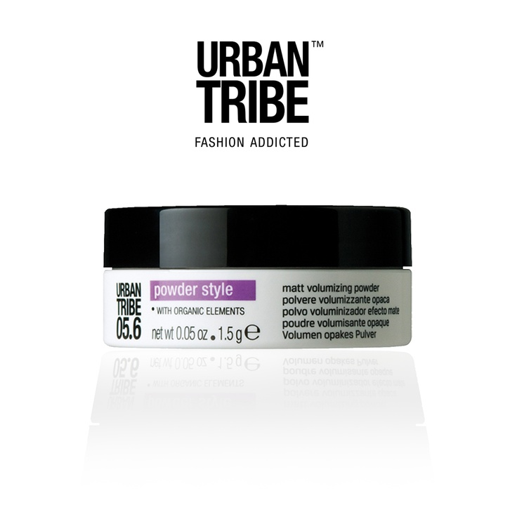 A new Urban Tribe product: 05.6 Powder Style: matt volumizing powder with organic elements! #hair #beauty