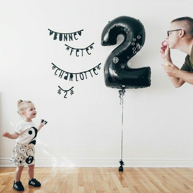 So much love & happiness in 1 pic ♥♥♥ SO SWEET!!! @charlottebunnygirl, thx for sharing! #wordbanner #lettergarland #diywordbanner #alittlelovelycompany #birthday