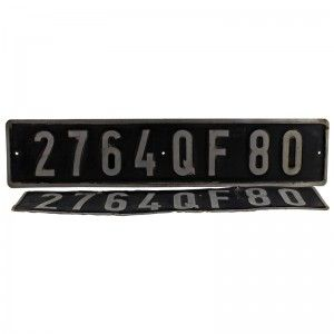 Buy this fab old plates from French Mini at www.ideavintage.pl