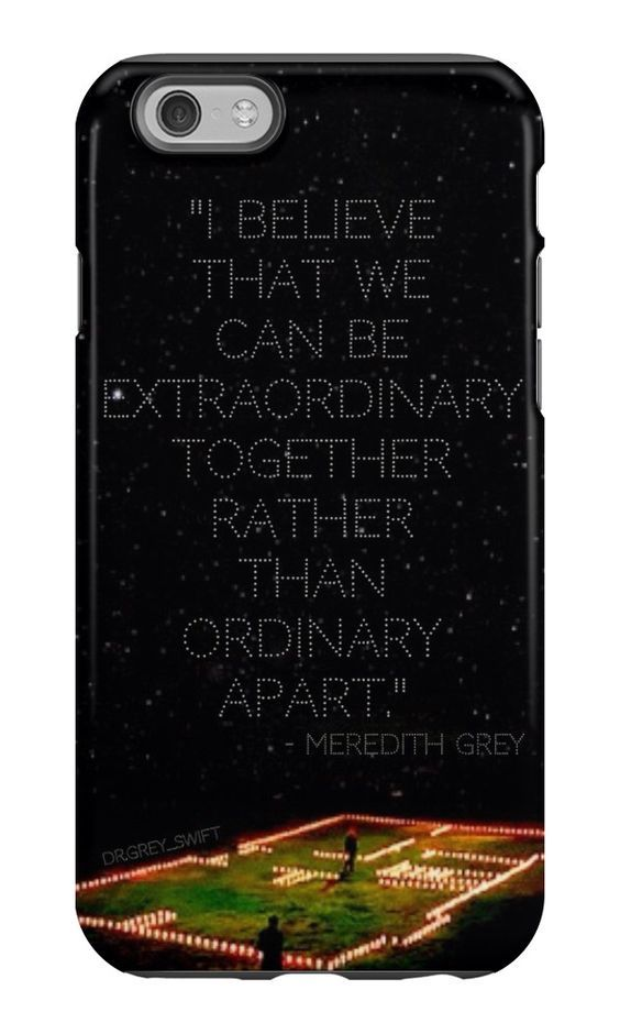 IPHONE 6 - TOUGH- MerDer - House of Candles - Grey's Anatomy - phone case by Megan Roberts: