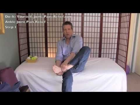 Ankle Joint Pain Relief - Step 1