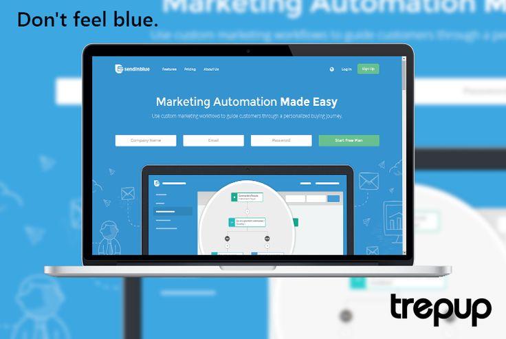 Marketing woes getting you blue? Let sendinblue take care of it.  http://bit.ly/1L6hvtv