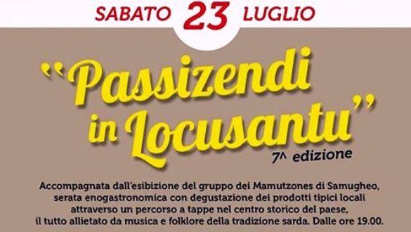 """Luogosanto,+VII^+ed.+di+""""Passizendi+in+Locusantu"""",+artigianato,+musica,+gastronomia+e+tanto+altro+per+le+vie+del+paese.+Sabato+23+luglio,+dalle+ore+19.00"""