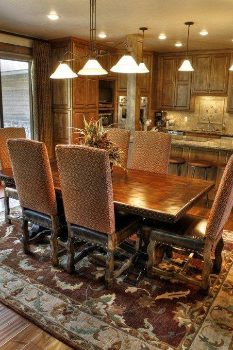 Customize your dining | Mountain Comfort Furnishings & Design