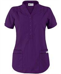 UA Best Buy Scrubs Women's Mandarin Collar Scrub Top